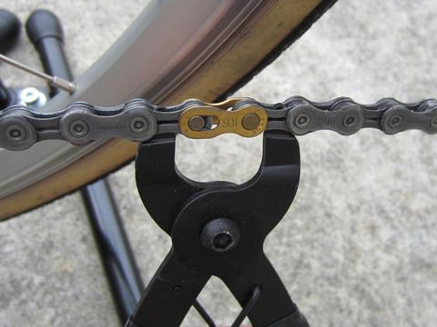自転車の 自転車 携帯工具入れ : ... チェーンリンクアセンブル工具